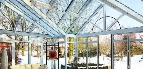 Системи вентиляції зимових садів від компанії  есток. Оцинкована підсистема