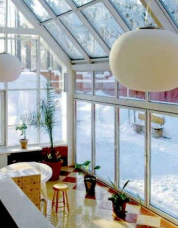 Обладнання. Розташування і мікроклімат зимового саду