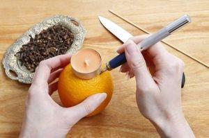 Свічка з апельсина. Свічка з апельсина своїми руками як зробити свічку з апельсинової шкірки