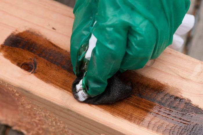 Зробимо деревину благородною. Просочення для дерева: як покрити морилкою деревяну поверхню виготовлення морилки для дерева