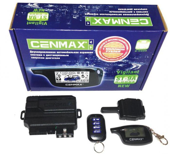 Перезавантаження сигналізації cenmax. Детальний огляд автосигналізації ценмакс: як встановити і інструкція із застосування