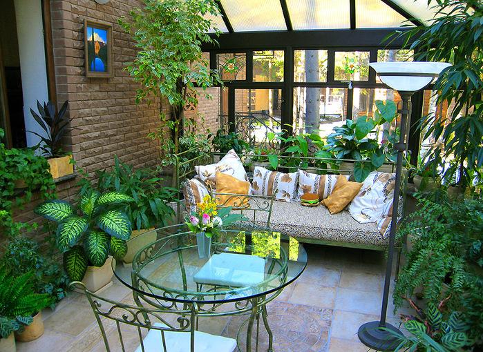Вентиляція, опалення та захист від сонця для зимових садів. Мікроклімат зимового саду та обладнання