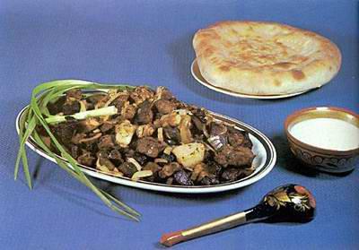 Казахський стіл. » краще один раз шиж-миж...  казахські традиції дастархана