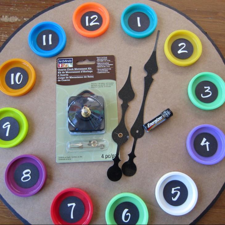 Як зробити великий годинник. Оригінальний декор годин можна створити і своїми руками