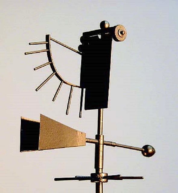 Вгадуємо напрямок вітру: встановлюємо на дах флюгер. Що таке флюгер символіка і значення