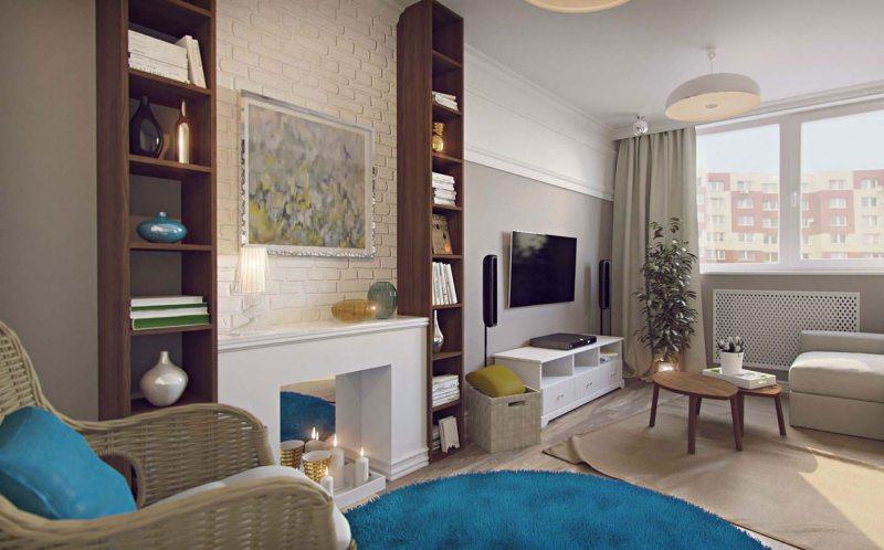 Камін з пвх. Штучний камін в інтерєрі вітальні: величезна кількість фото дизайнів