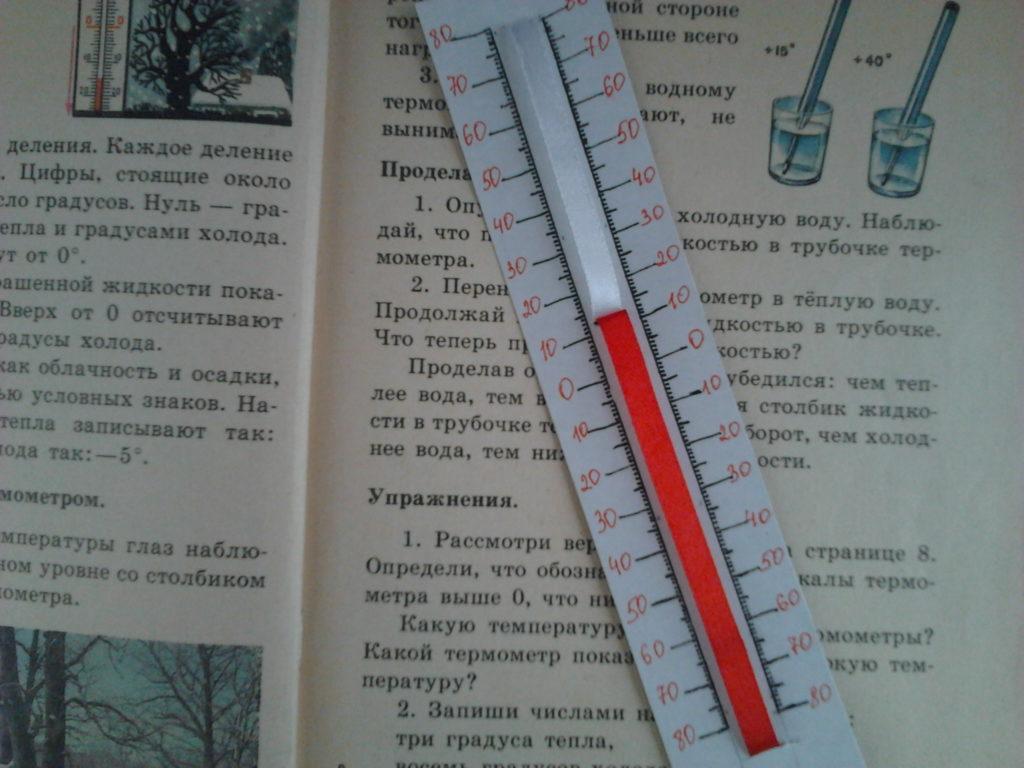 Презентація до уроку технологіївиготовлення термометра. Як зробити градусник з картону як зробити градусник в домашніх умовах