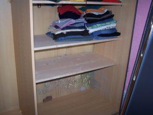 Як освіжити білизну в шафі. Прибрати неприємний запах з шафи - всі способи! чому в шафі зявляється затхлий запах