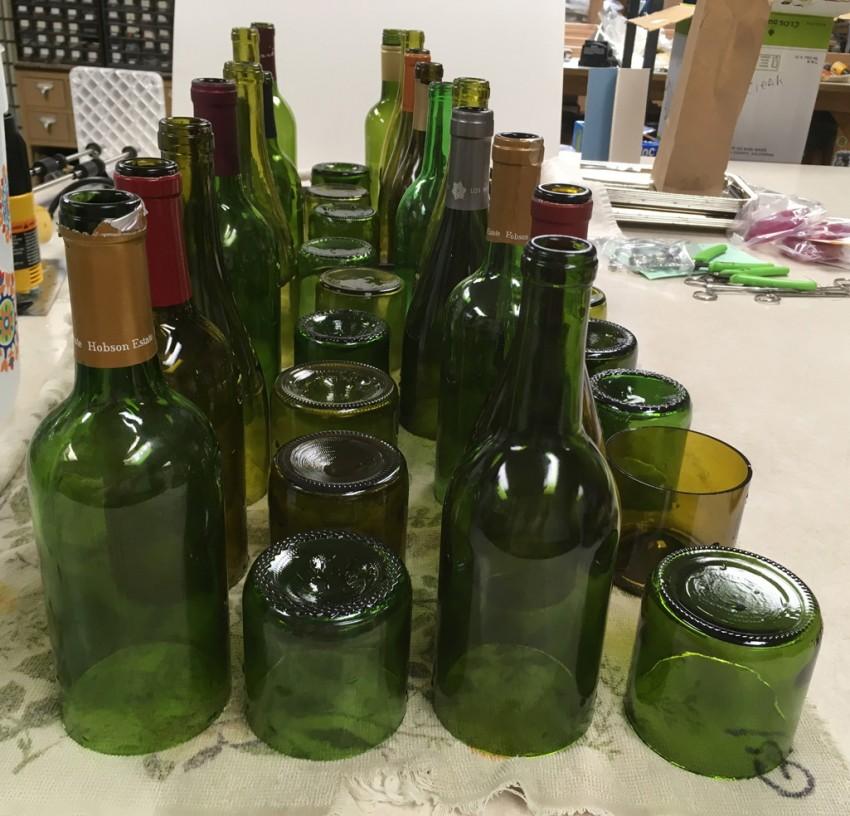 Як відрізати пляшку з під шампанського. Як розрізати скляну пляшку ниткою