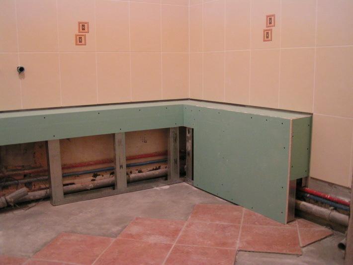 Дизайн дуже маленької ванної кімнати 1.5. Ремонт в маленькій ванній кімнаті
