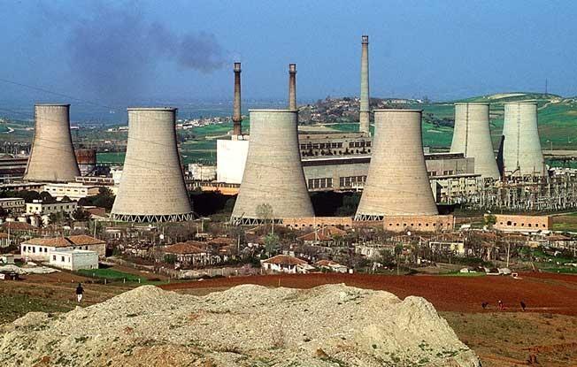Як працює теплова електростанція (тец)? порівняльна характеристика тес і аес з точки зору екологічної проблеми.