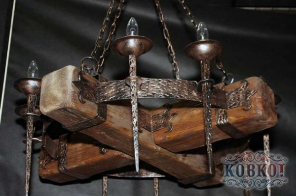 Люстра з рейок своїми руками. Як самостійно виготовити деревяний світильник