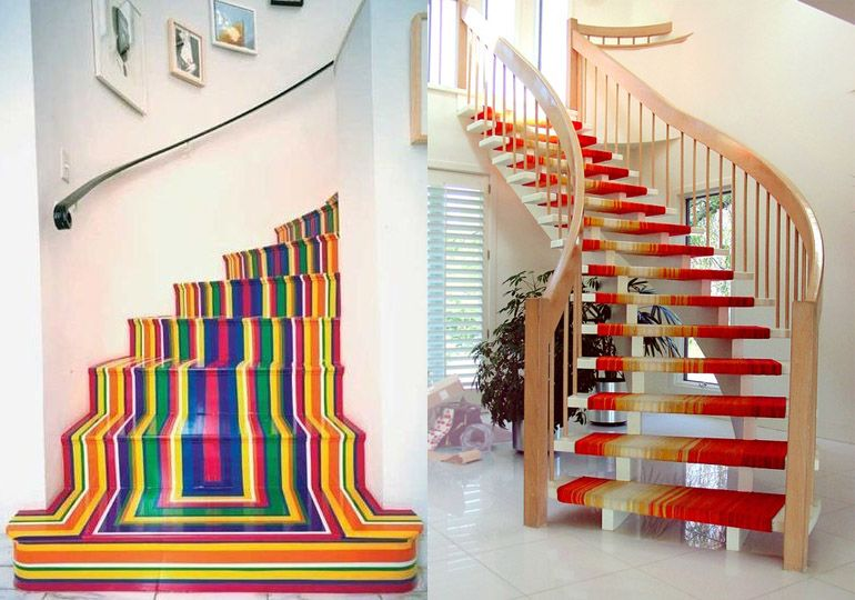 Як пофарбувати сходи в будинку своїми руками. Чим фарбувати деревяні сходи