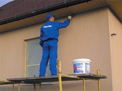 Як виконується фарбування деревяного будинку. Фарбування деревяного будинку: підготовка і грунтовка, вибір фарби і способи фарбування фарбування фронтону деревяного будинку