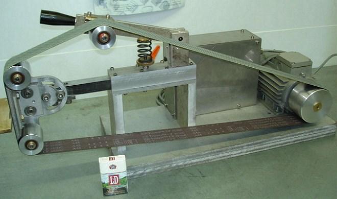 Горизонтальний стрічковий шліфувальний верстат своїми руками креслення. Самостійне виготовлення шліфувального верстата по дереву