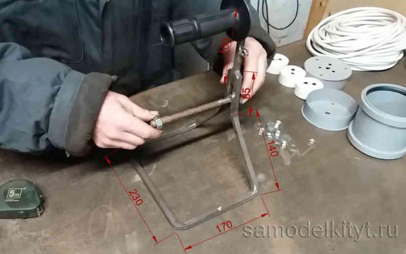 Саморобна котушка для змотування подовжувача. Як зробити подовжувач на котушці